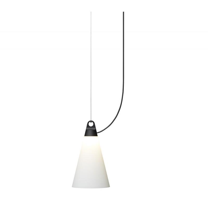 Lustra Cone, Ø20 cm, H35 cm, Black