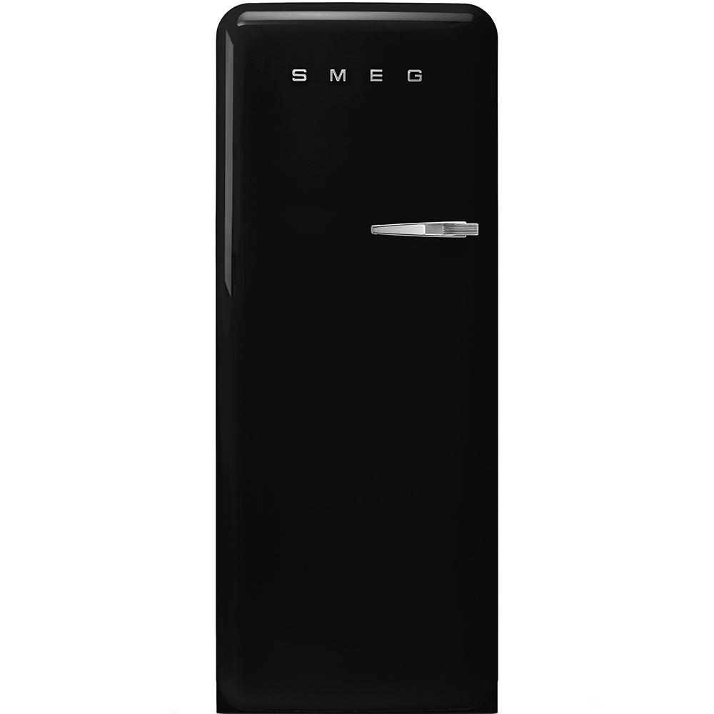 Congelator cu deschidere stanga CVB20LNE1, Negru, 60 cm, SMEG imagine