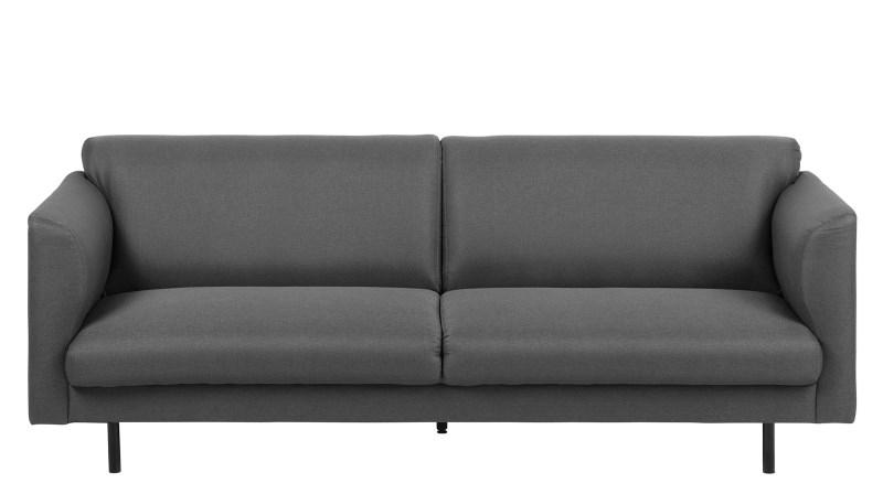 Canapea 3 locuri Conley Dark Grey