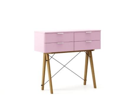 Consola Maxi Pink, L100xl35xh90 cm