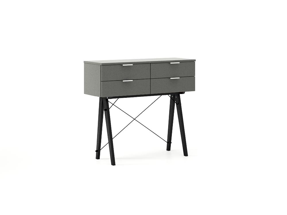 Consola Maxi Grey, L100xl35xh90 cm