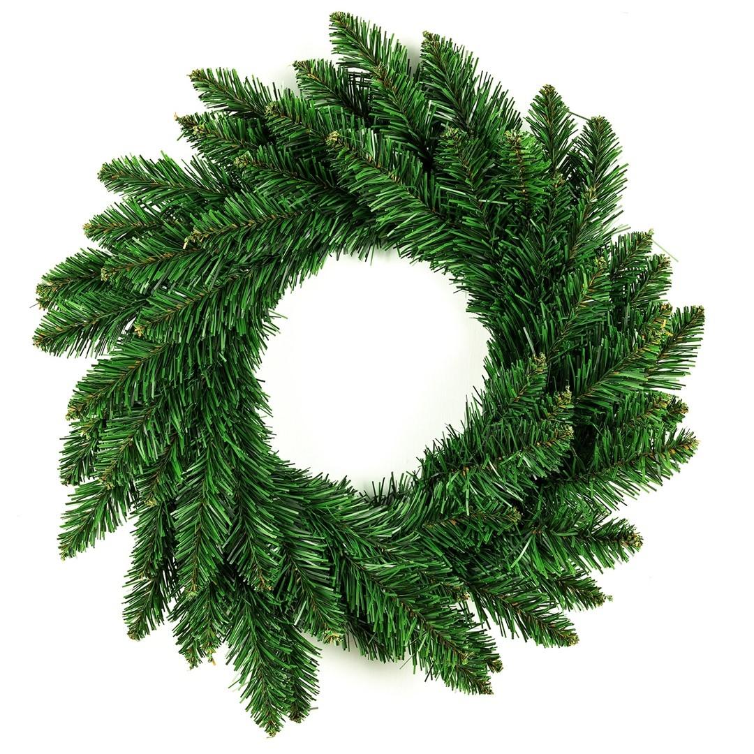 Coroana decorativa de Craciun Holly Verde, Ø50 cm imagine