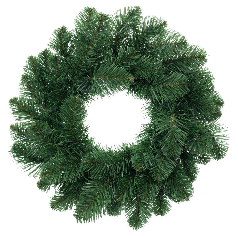 Coroana decorativa de Craciun Polar Verde, Ø50 cm imagine