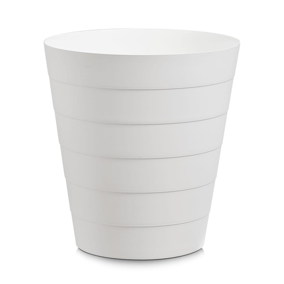 Cos de gunoi din plastic, Easy Clean, 13,5L-Alb imagine