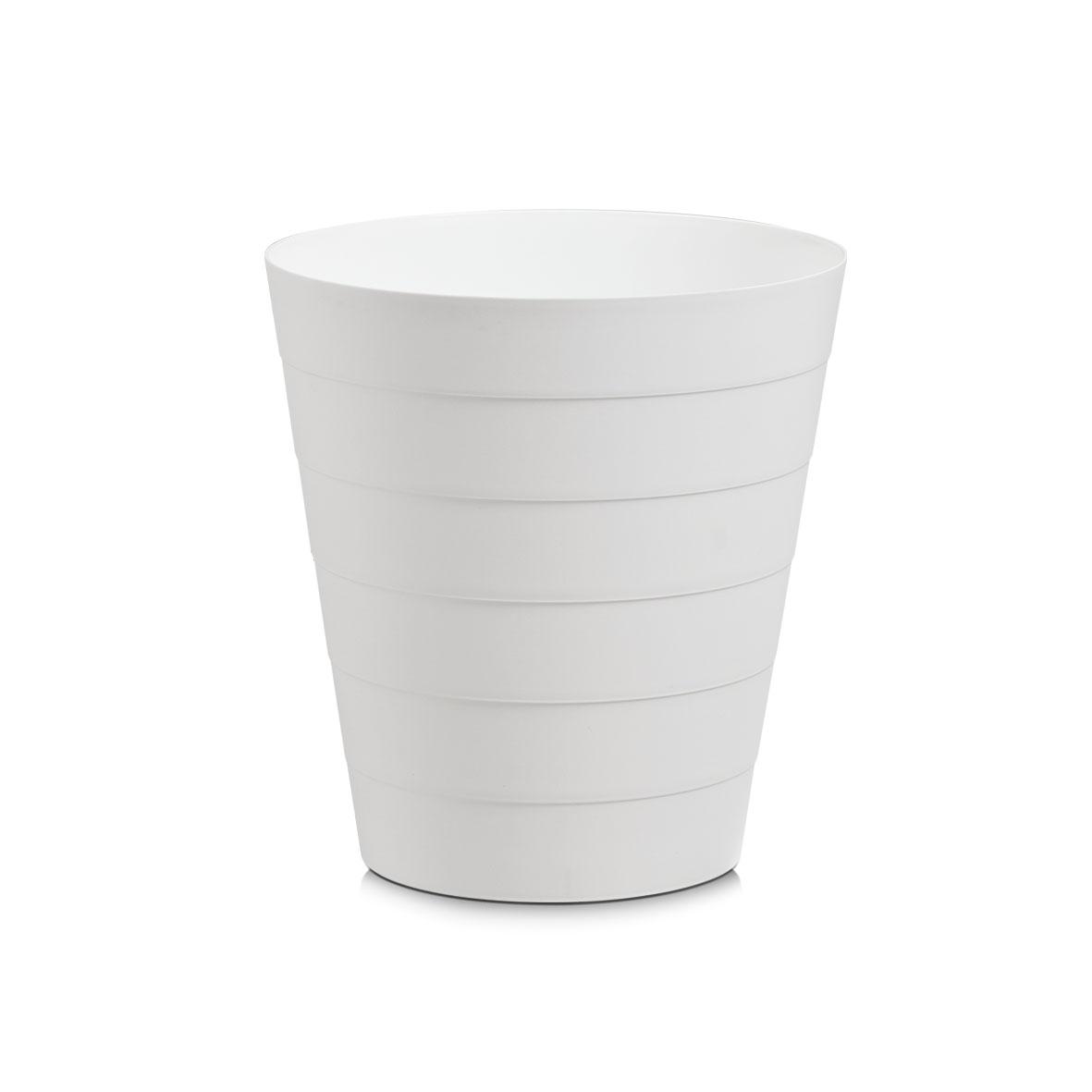 Cos de gunoi din plastic, Easy Clean, 8,8L-Alb imagine