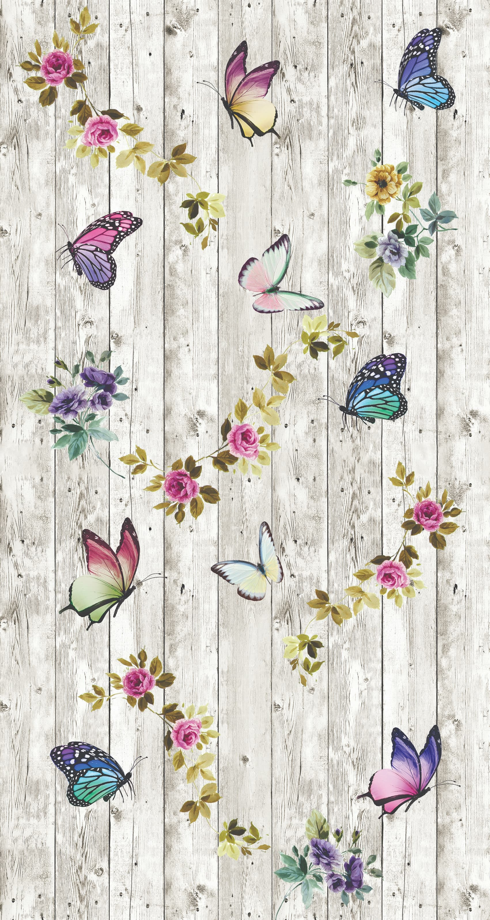 Covor Butterflowers 5016 Multicolor, 80 x 150 cm imagine