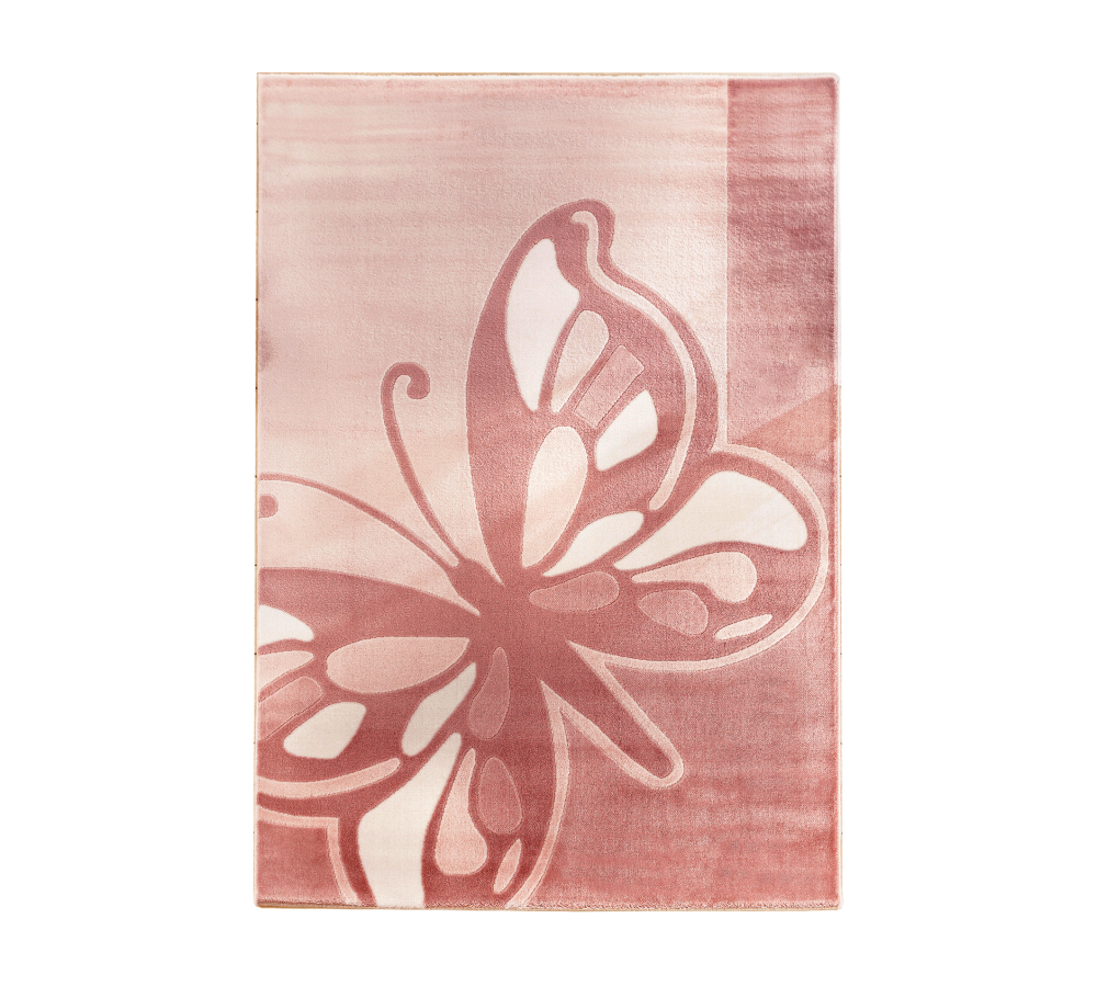 Covor Copii Butterfly Pink