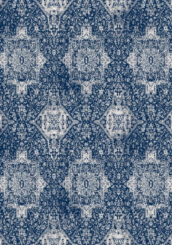 Covor din lana Augustus Blue, Wilton