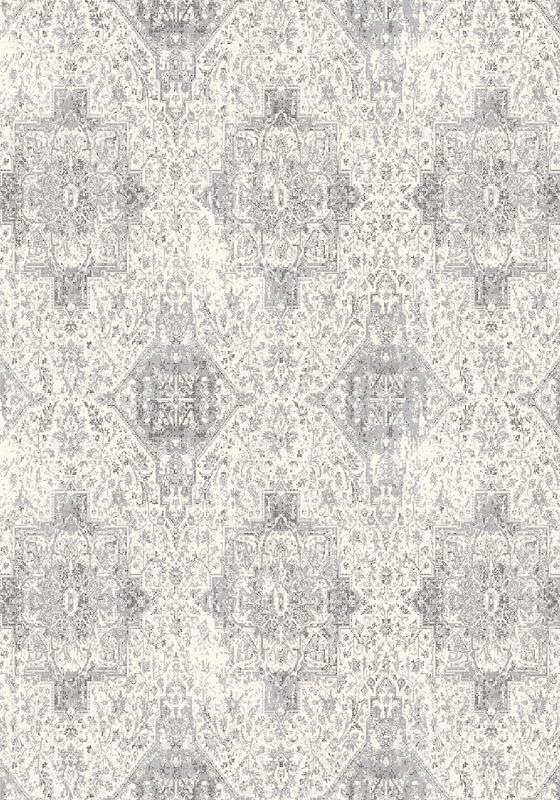 Covor din lana Augustus Silver Wilton