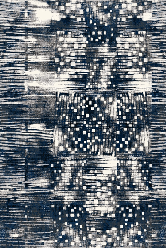 Covor din lana Ksante Graphite Wilton