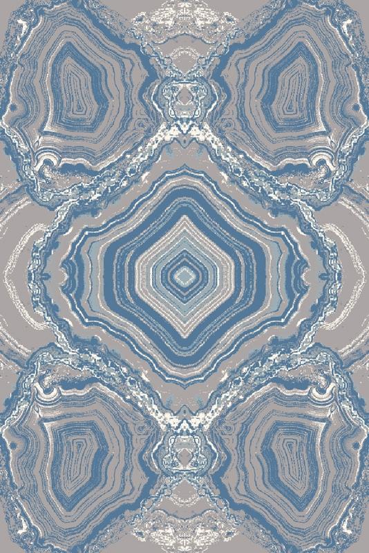 Covor din lana Magical Blue Wilton