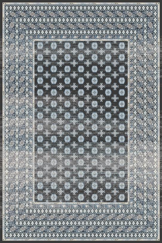Covor din lana Melite Graphite Wilton