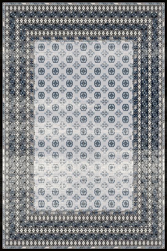Covor din lana Melite Light Grey Wilton