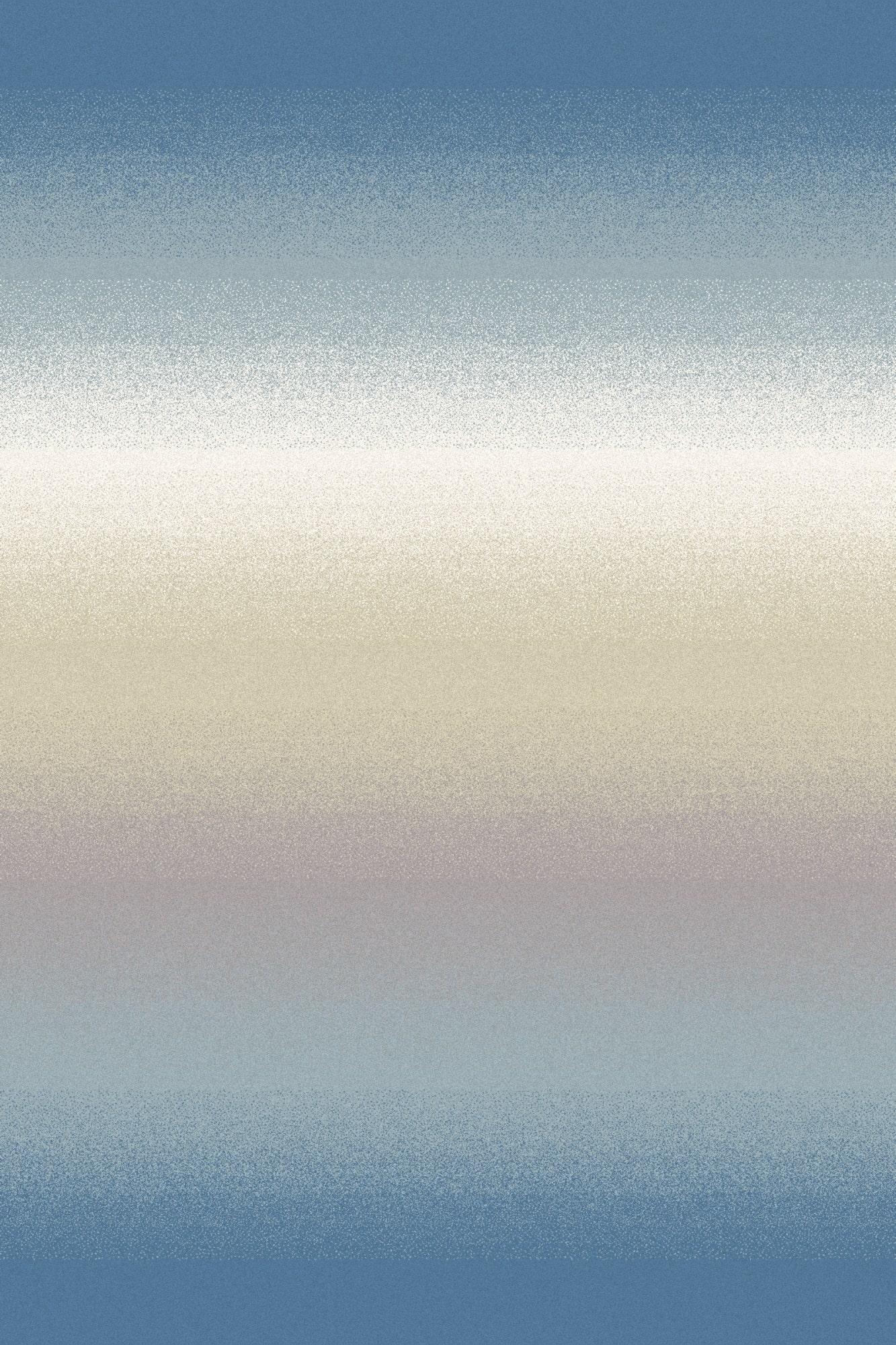 Covor din lana Ombre Bleu Wilton