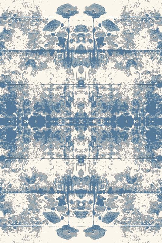 Covor din lana Popys Blue Wilton