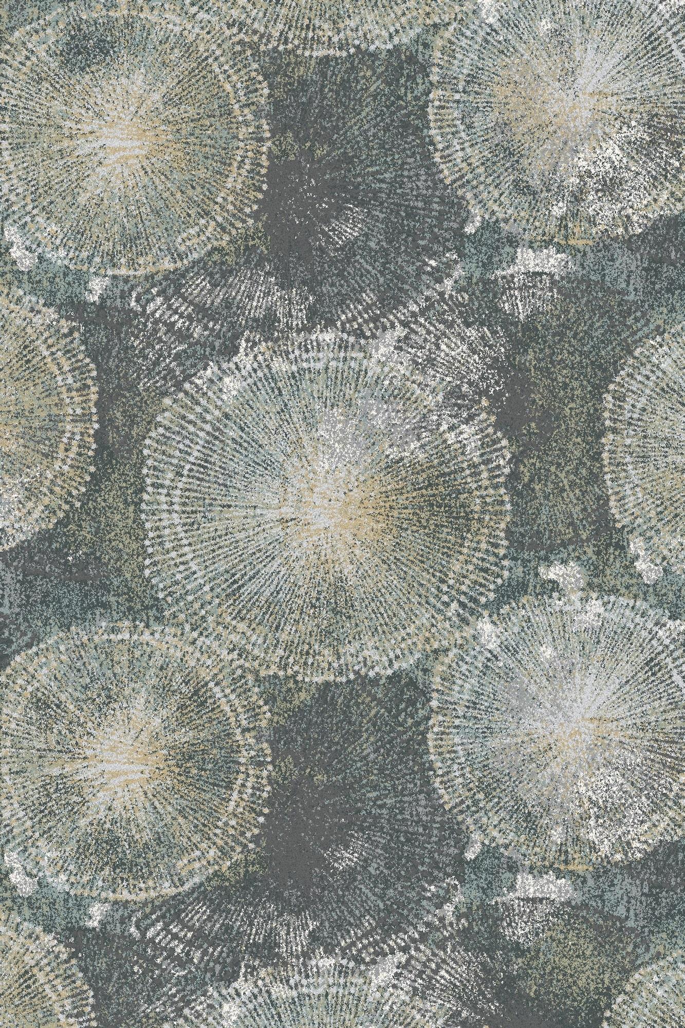 Covor din lana si poliamida Abana Gri Axminster