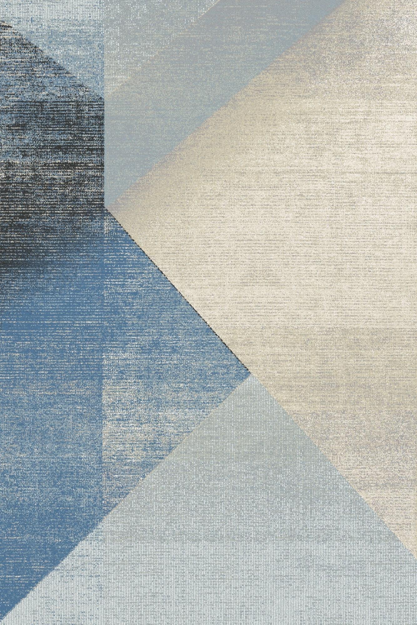 Covor din lana Wido Bleu, Wilton