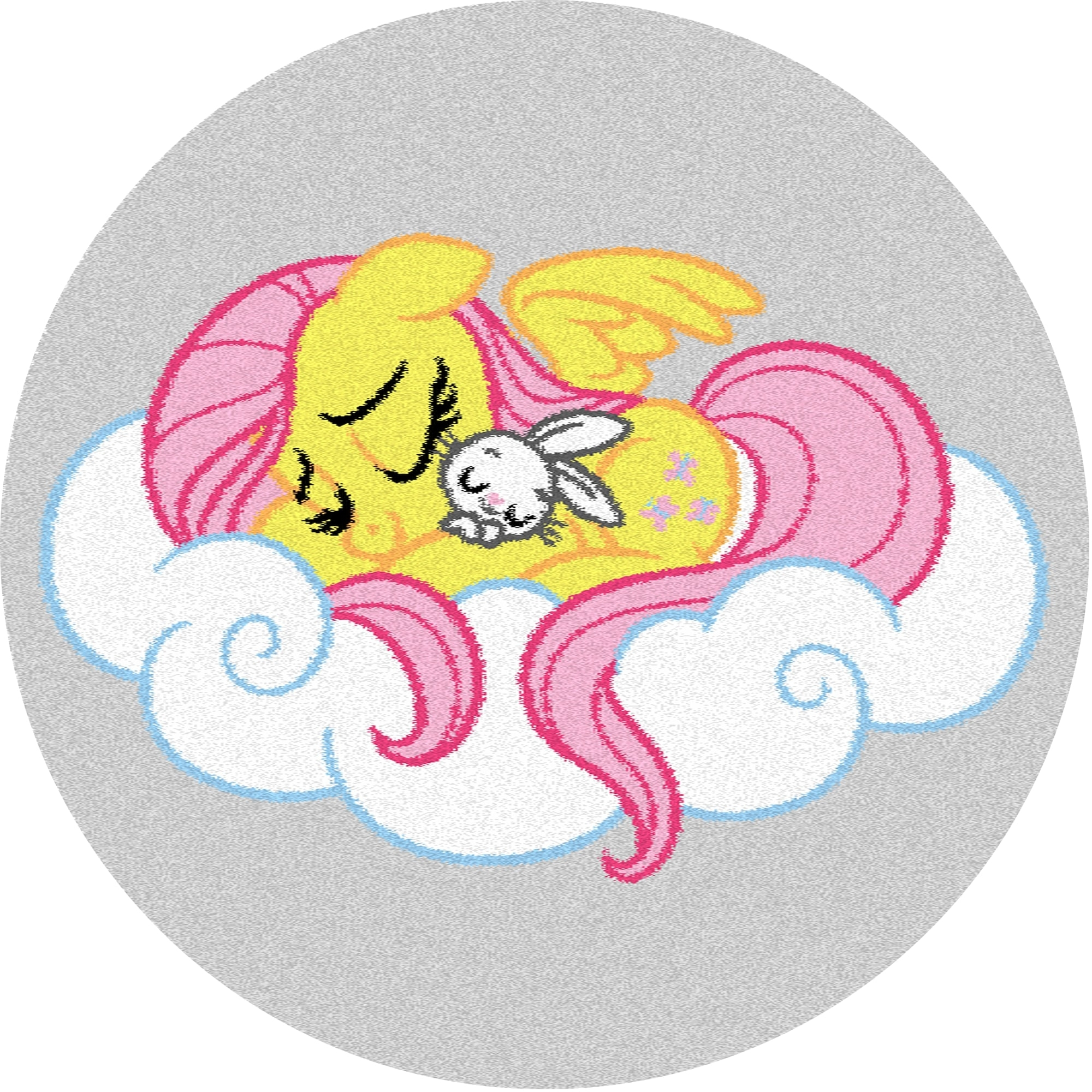 Covor din PP My Little Pony Dreams Alb Wilton