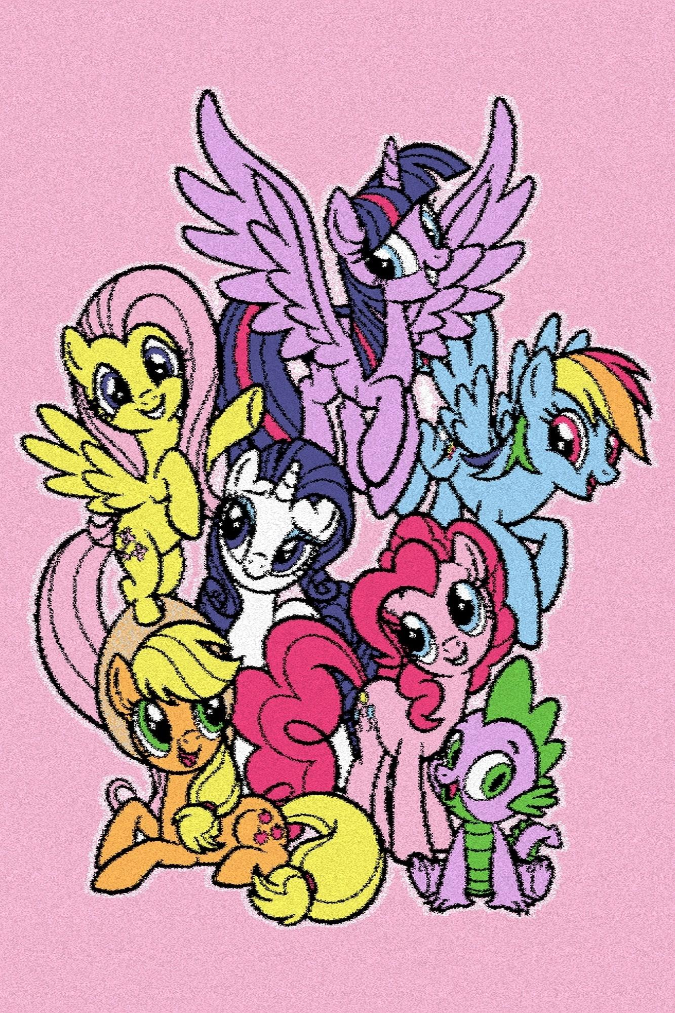 Covor din PP My Little Pony Family Roz Wilton
