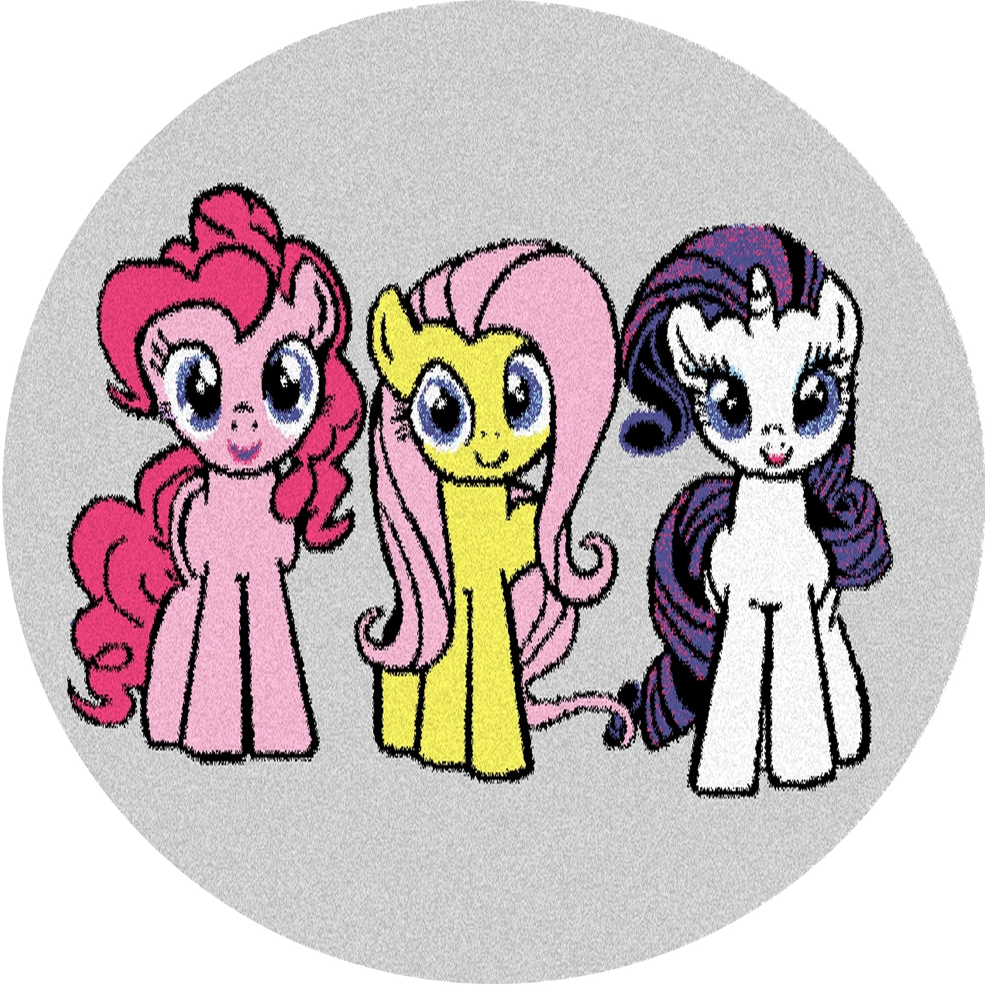 Covor din PP My Little Pony Pals Gri Wilton