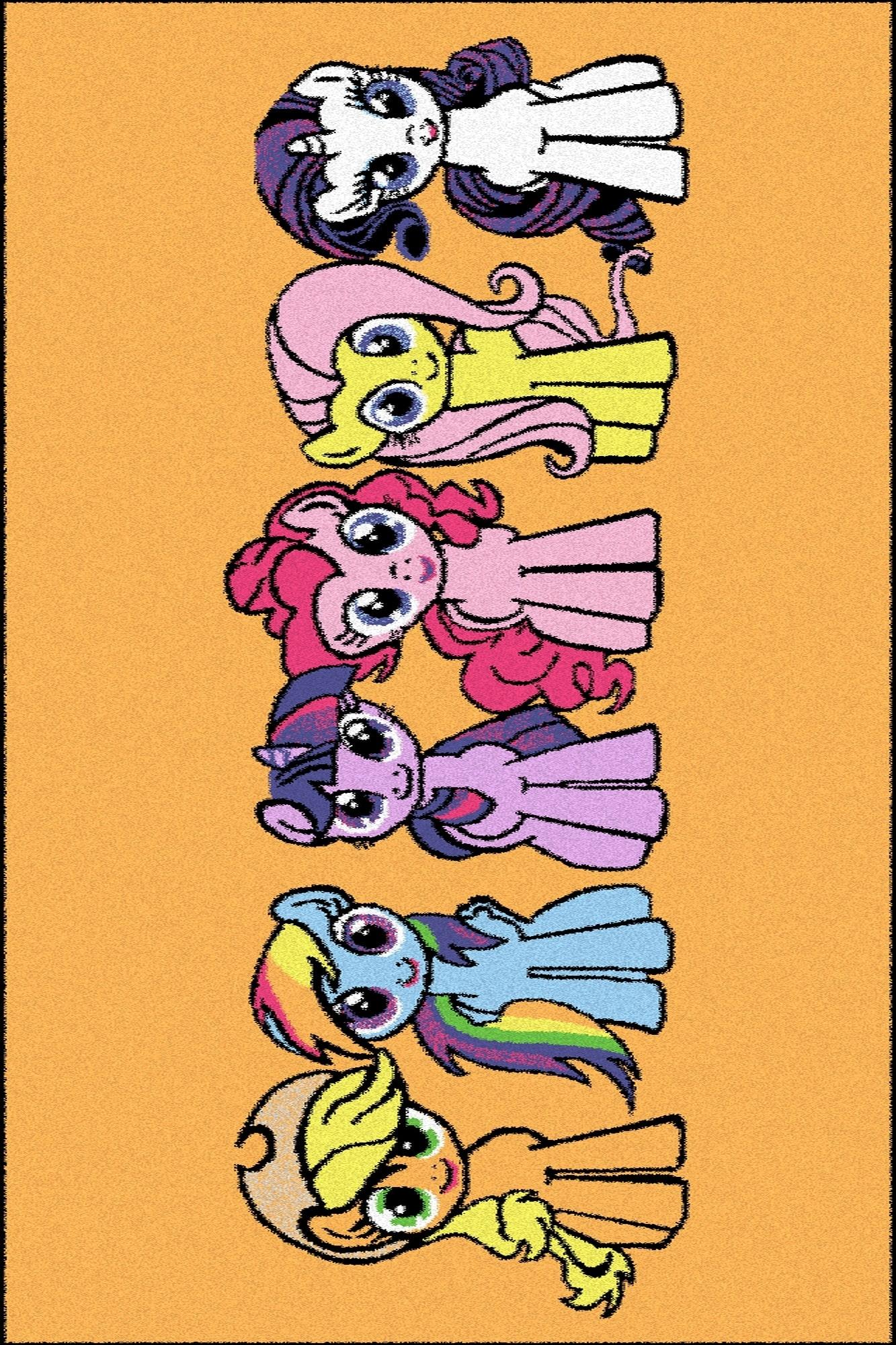 Covor din PP My Little Pony Play Portocaliu Wilton
