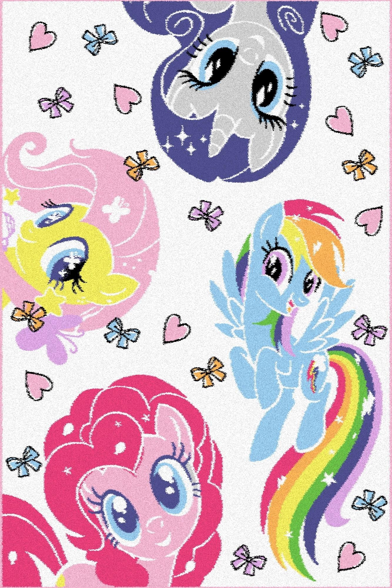 Covor din PP My Little Pony Pony Alb Wilton