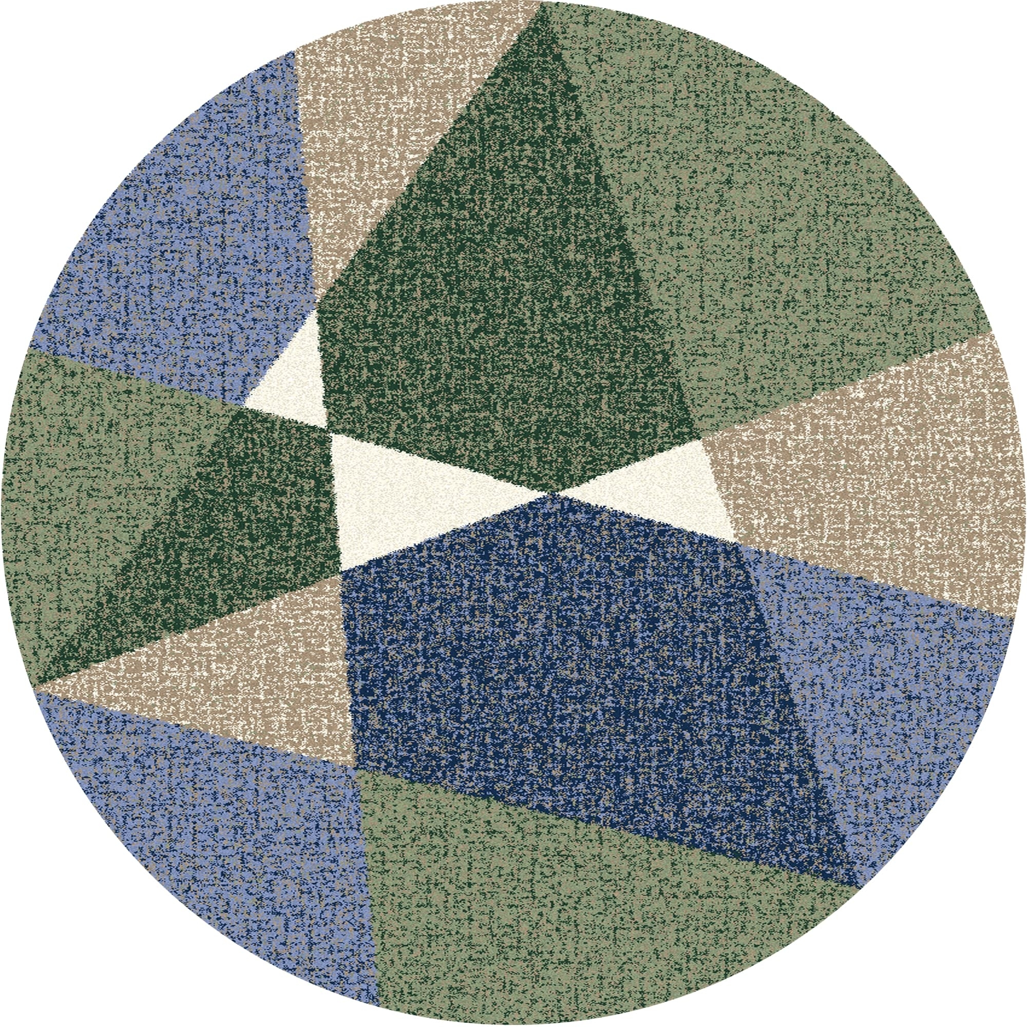 Covor din PP Triang Verde Wilton