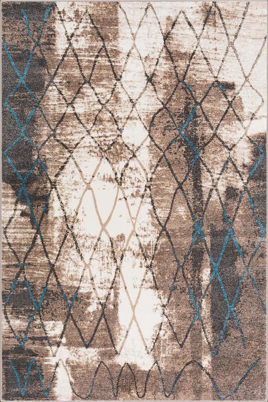 Covor din PP Ulmus Beige Wilton