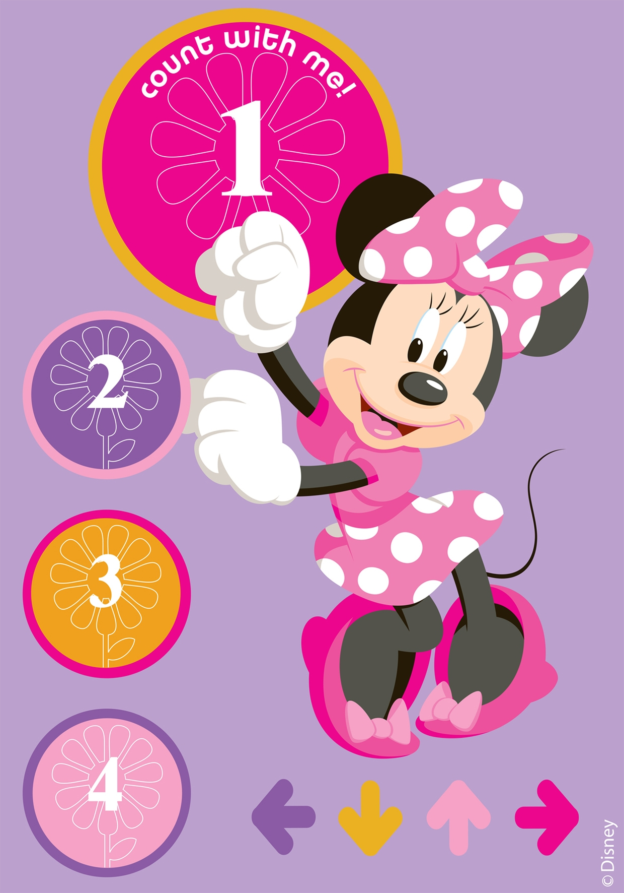 Covor Disney Kids Minnie Right / Left Imprimat Digital-133 x 190 cm