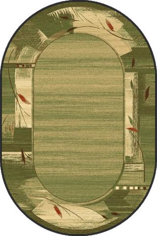 Covor Erba Chrom Oval, Wilton poza