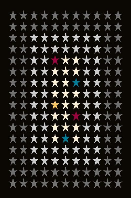 Covor Mut Black, Wilton-170 x 100 cm