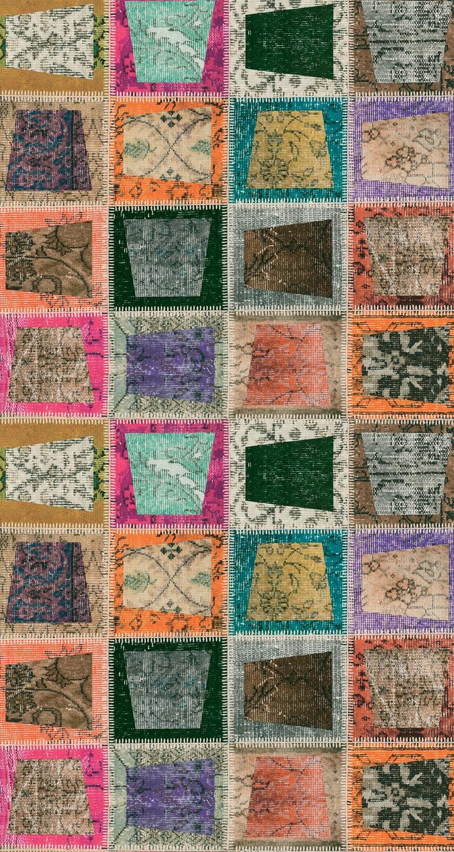 Covor Patch 2021 Multicolor, 120 x 180 cm
