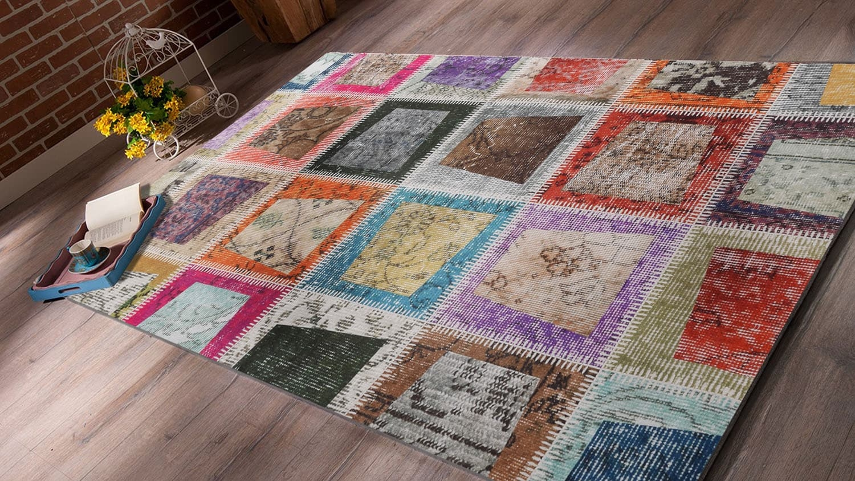 Covor Patch 2021 Multicolor, 80 x 200 cm