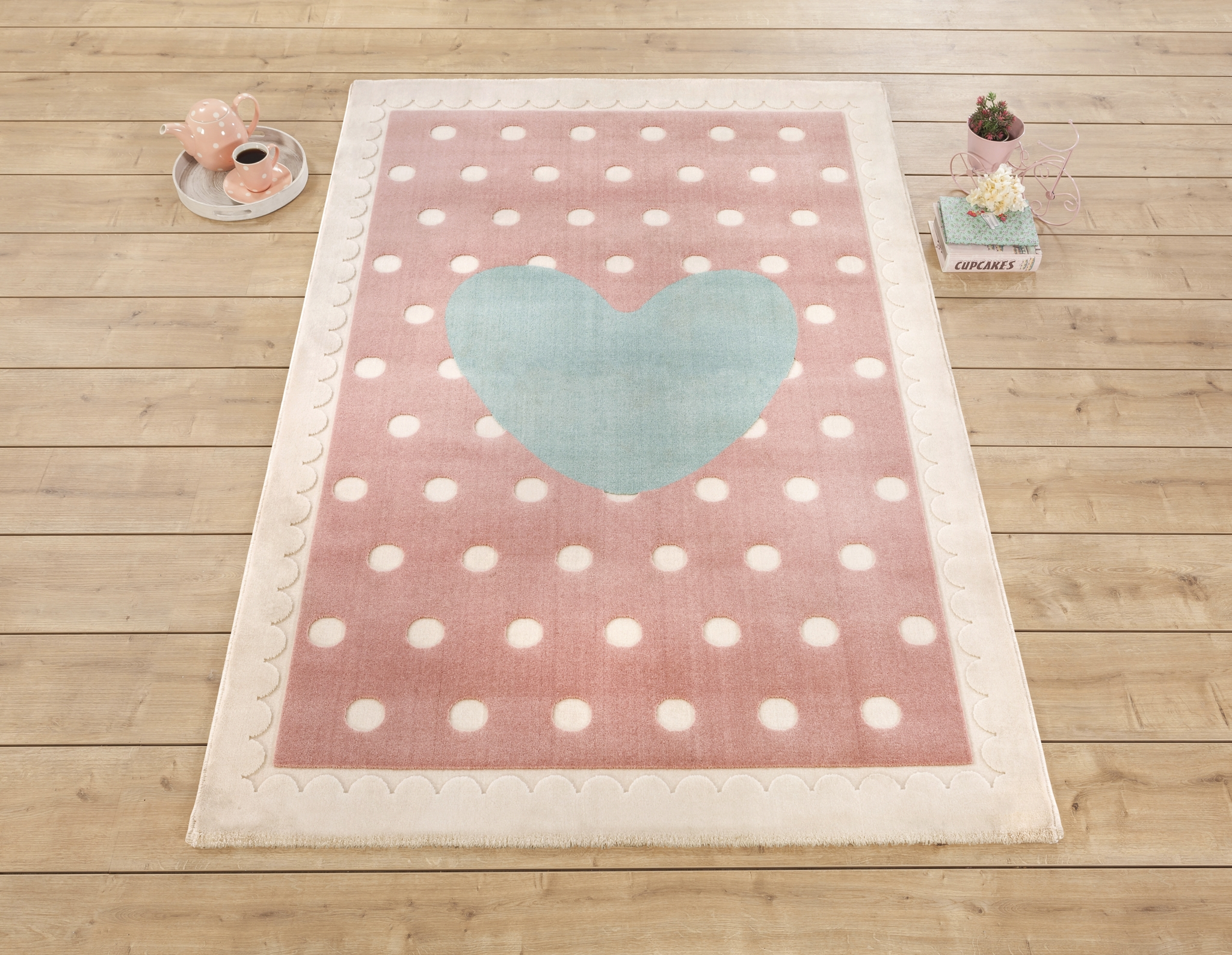 Covor Copii Baby Girl Pink