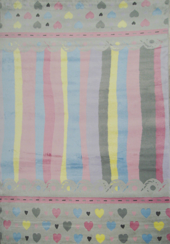 Covor pentru copii Junior Lines, Multicolor JU-305B