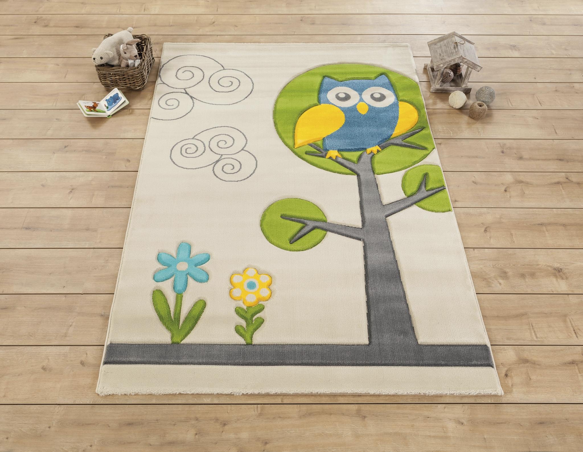 Covor pentru copii Story Multicolour, 133 x 190 cm imagine