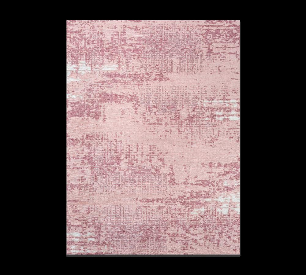 Covor reversibil pentru copii Pop Pink / White, 133 x 190 cm