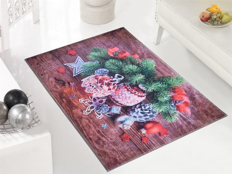 Covor Winter Time C1041 Multicolor, 50 x 80 cm