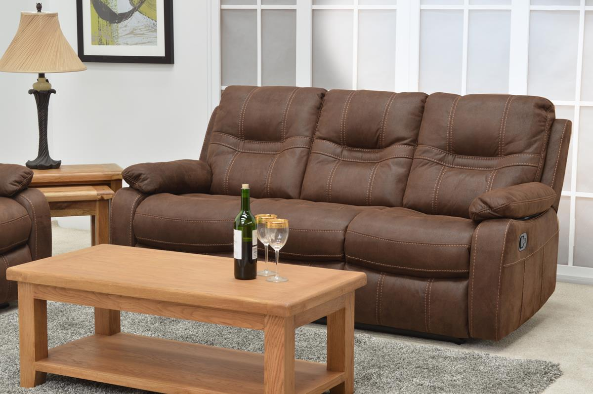 Canapea 3 locuri Corelli Brown