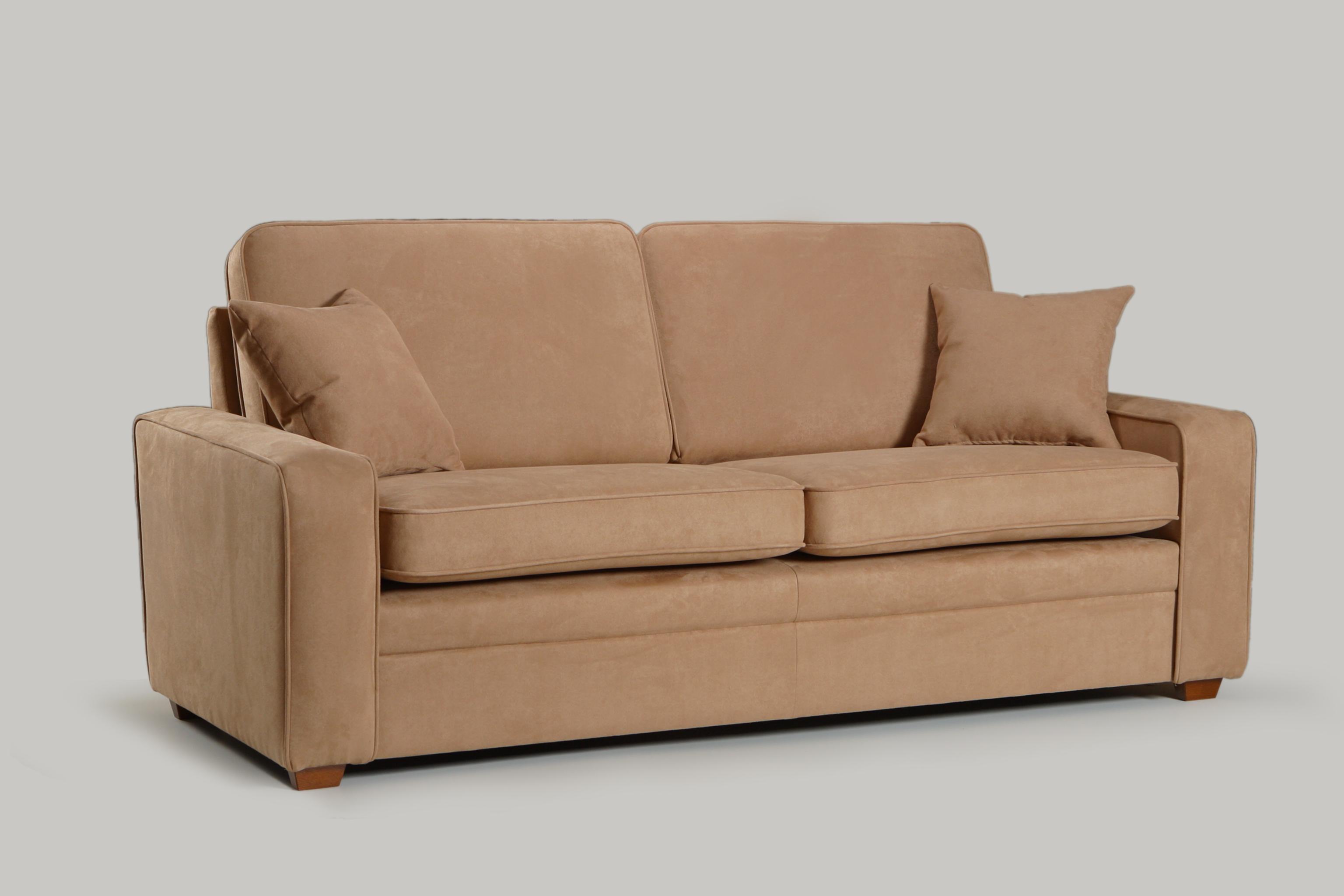 Canapea fixa 3 locuri tapitata cu stofa Mars