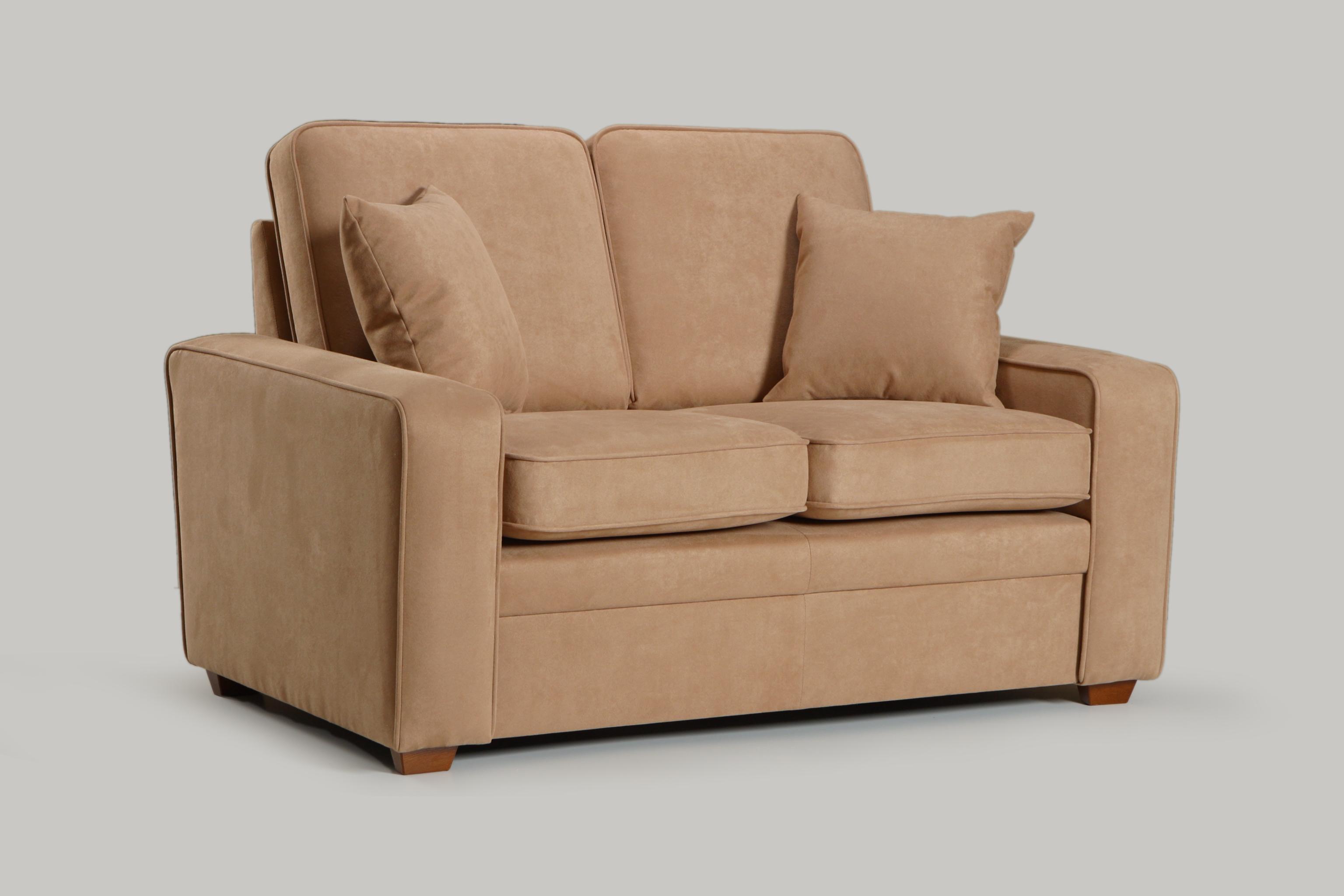 Canapea fixa 2 locuri tapitata cu stofa Mars