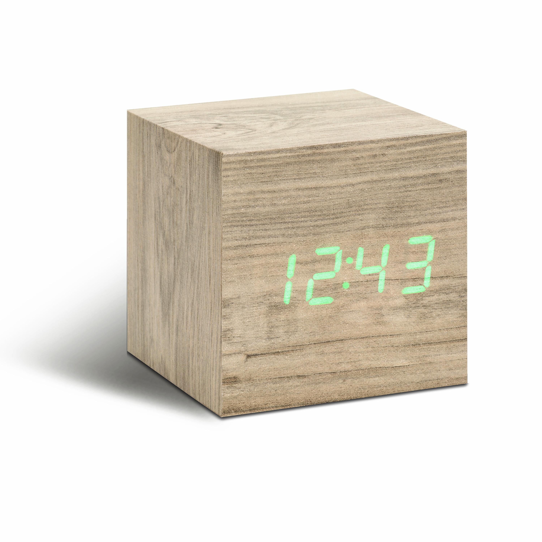 Ceas inteligent Cube Click Clock Ash/Green