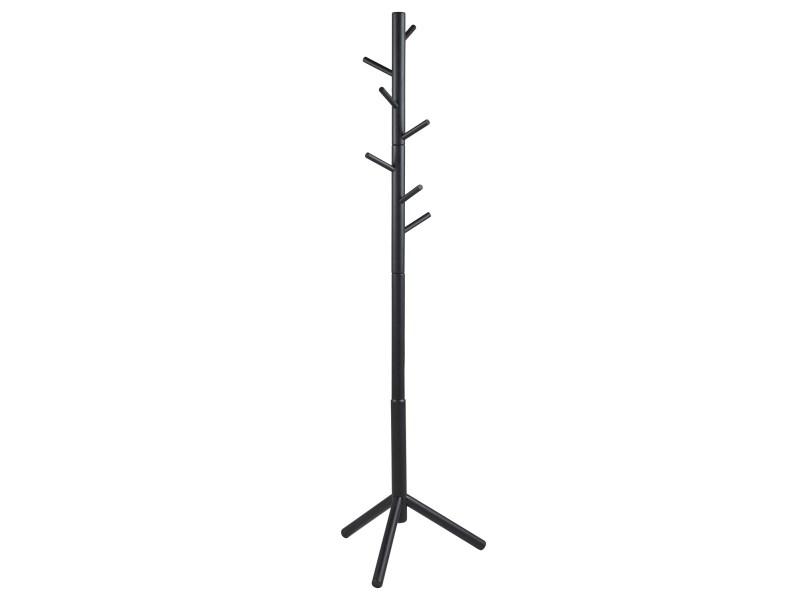 Cuier din MDF Bremen Negru, l51xA45xH176 cm