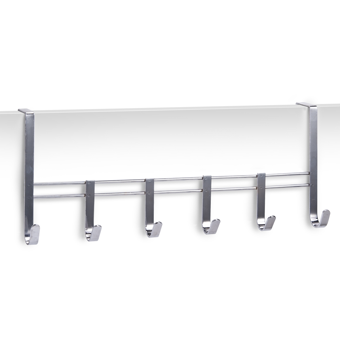 Cuier pentru usa, din metal, Scandi Crom, l51xA8xH20,5 cm somproduct.ro