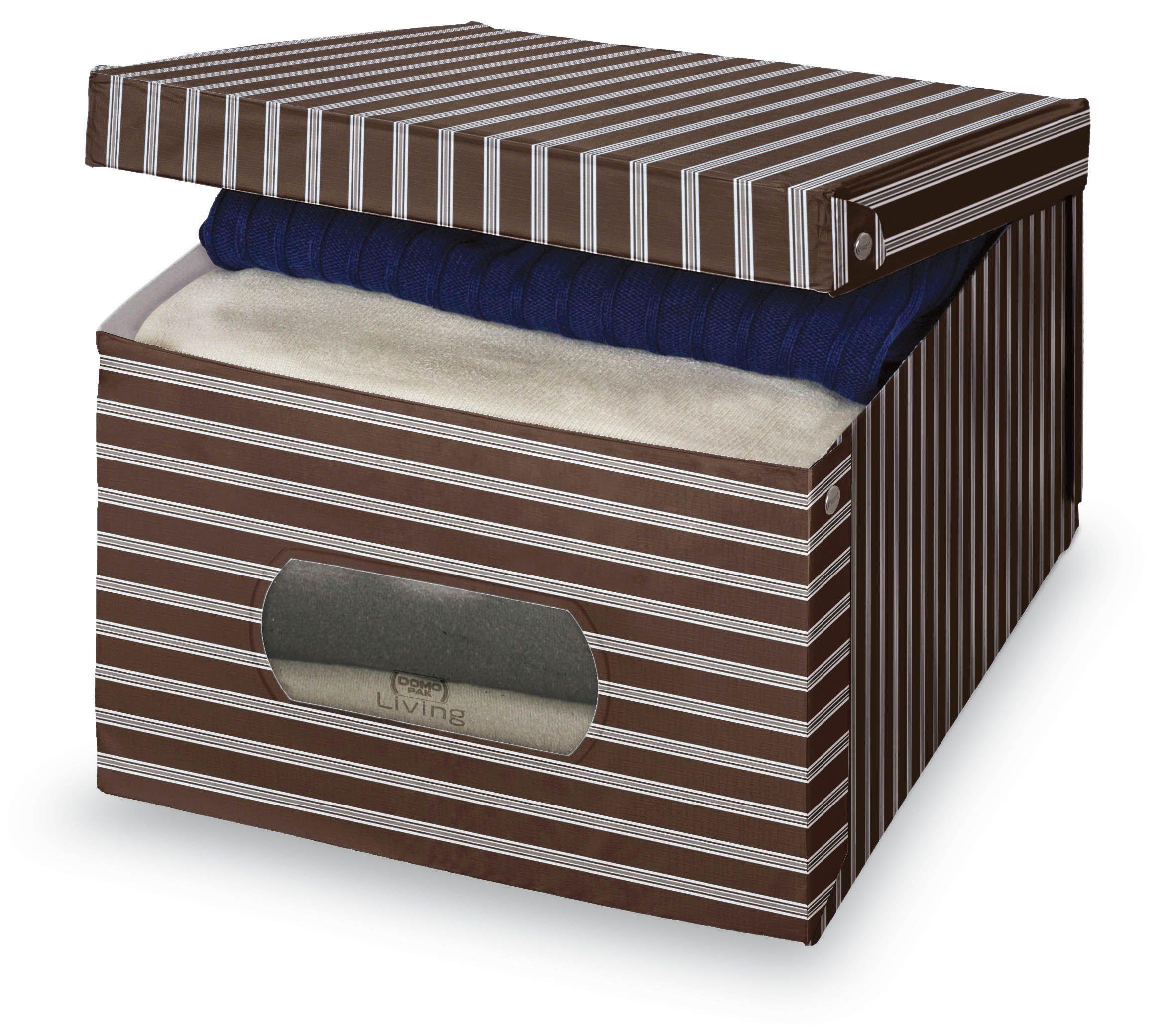 Cutie pentru depozitare din carton, Classic L Maro, L50xl39xH24 cm imagine