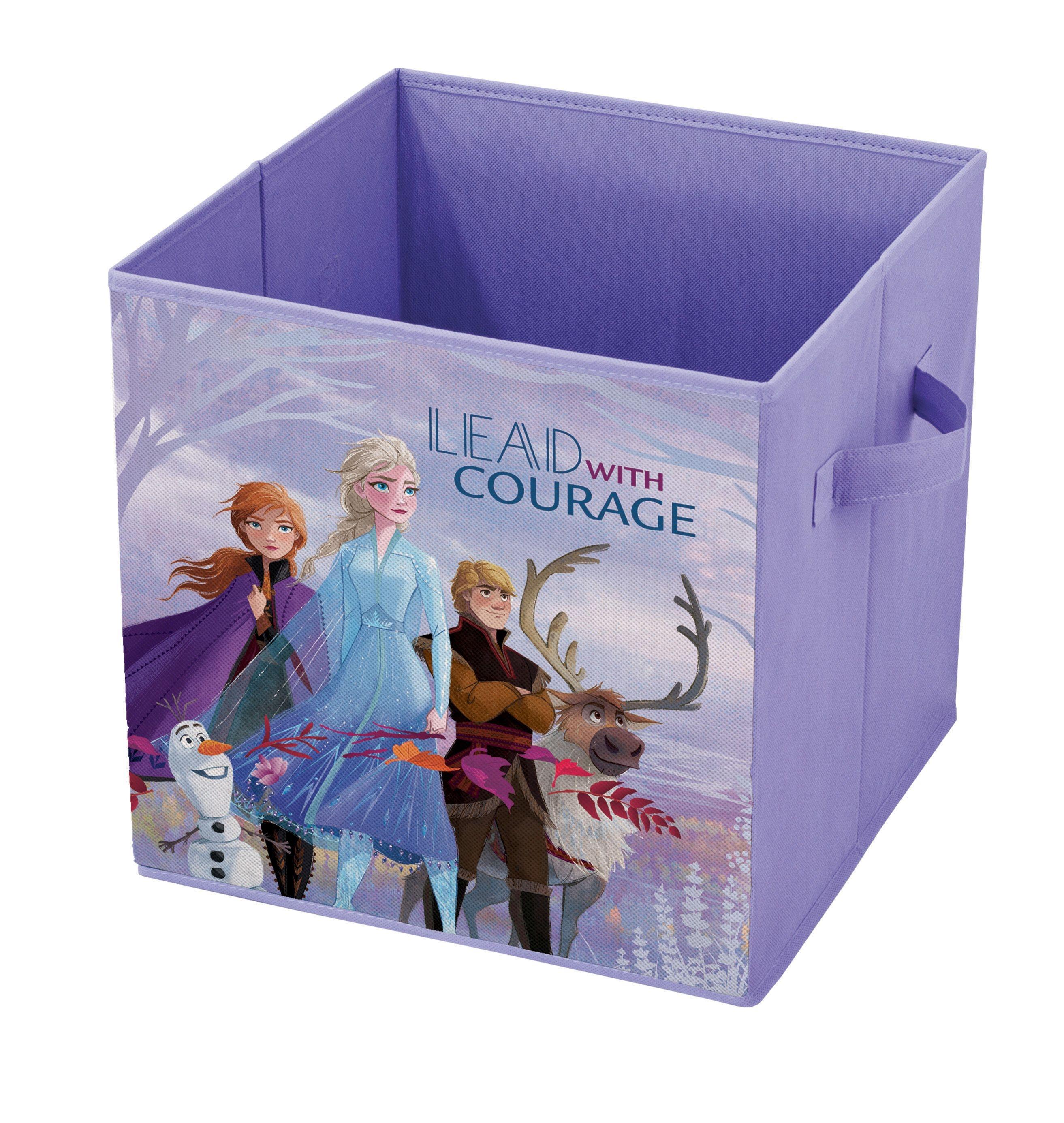 Cutie pentru depozitare jucarii, Frozen Violet, L32xl32xH32 cm