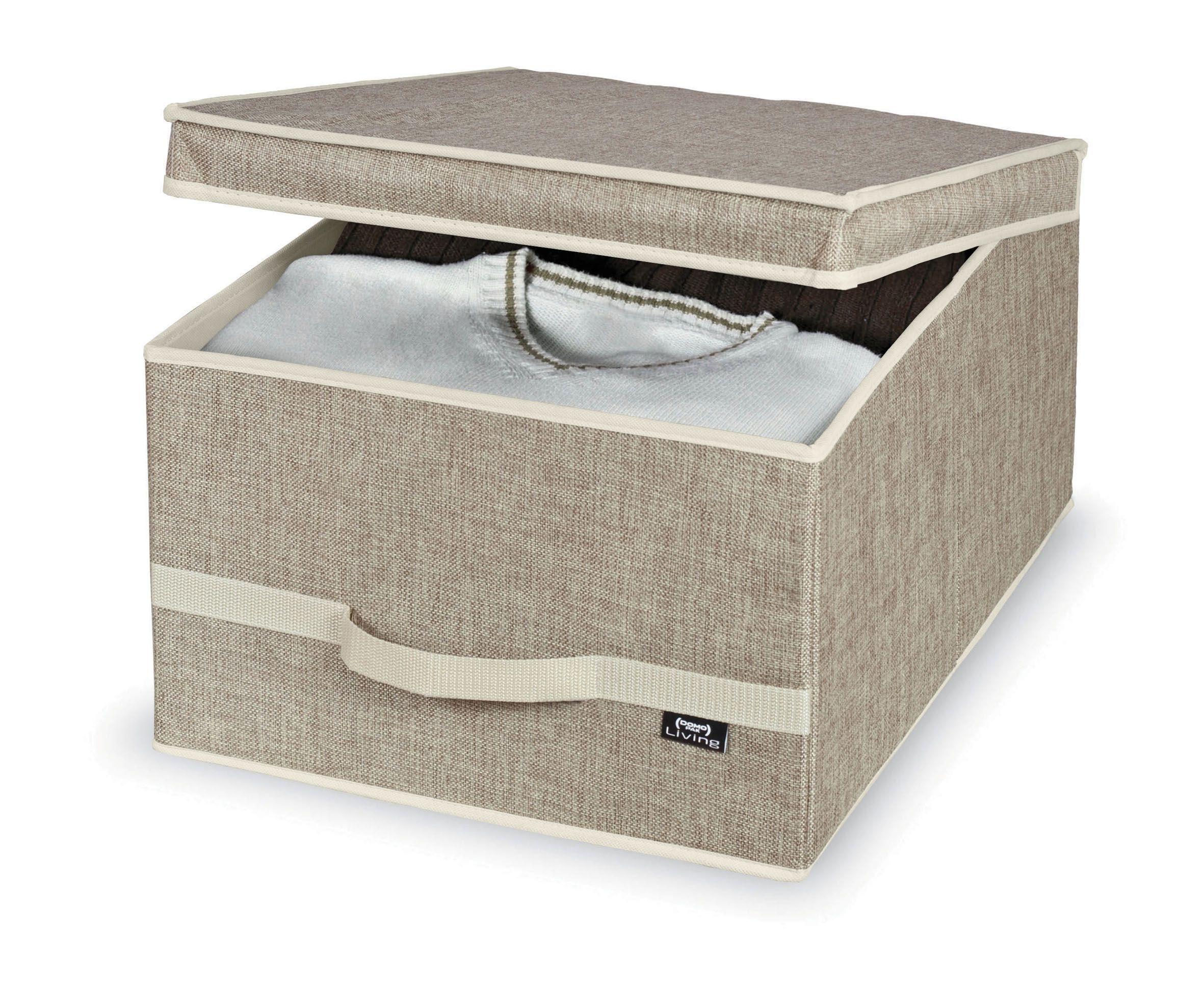 Cutie pentru depozitare din carton, Maison L Crem, L50xl38xH24 cm