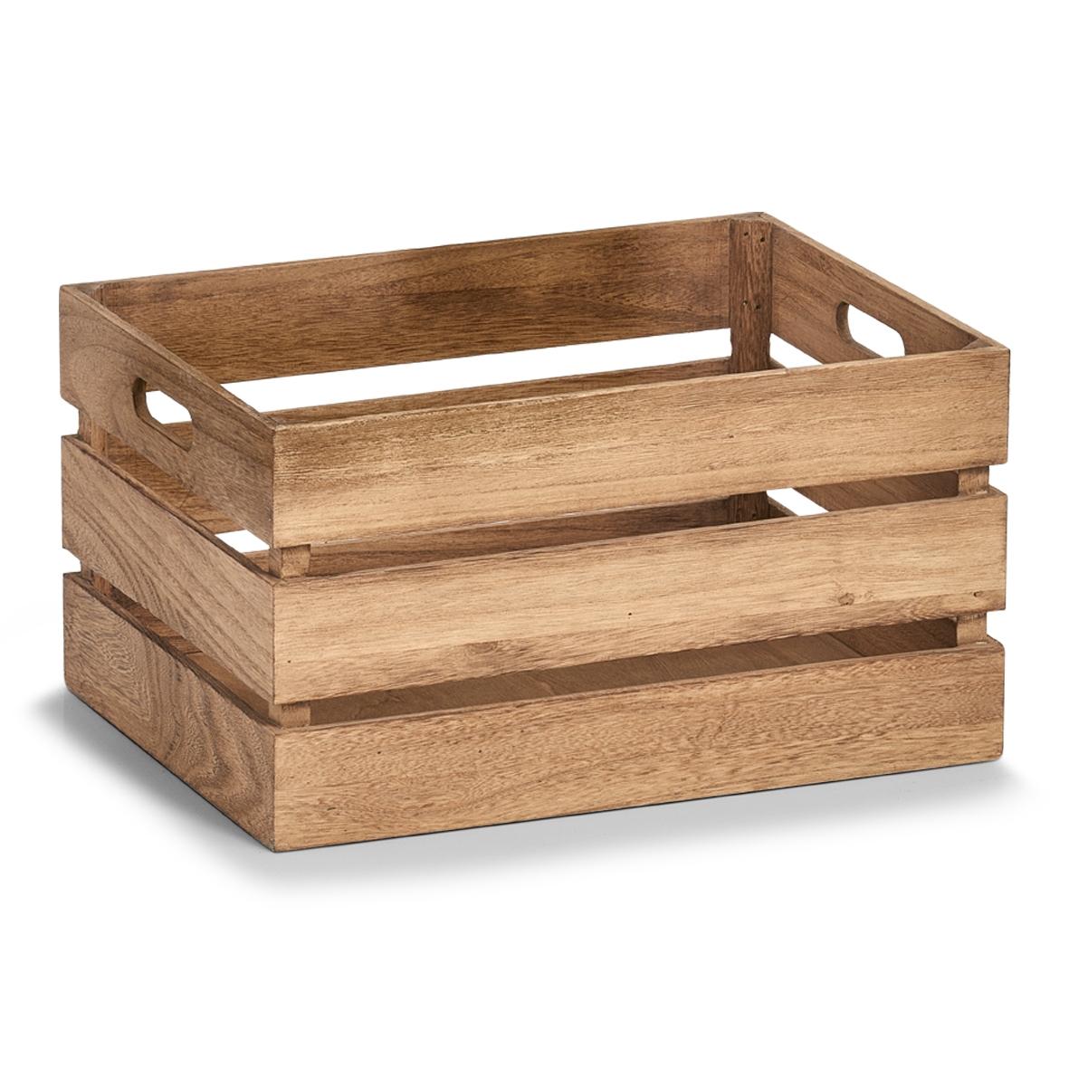 Cutie pentru depozitare din lemn, Vintage Large Maro, L39xl29xH21 cm imagine
