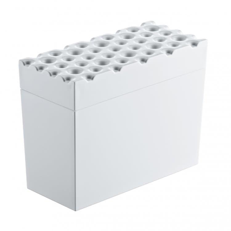 Cutie pentru depozitare, din termoplastic Broed Alb, l18xA9xH14,6 cm imagine