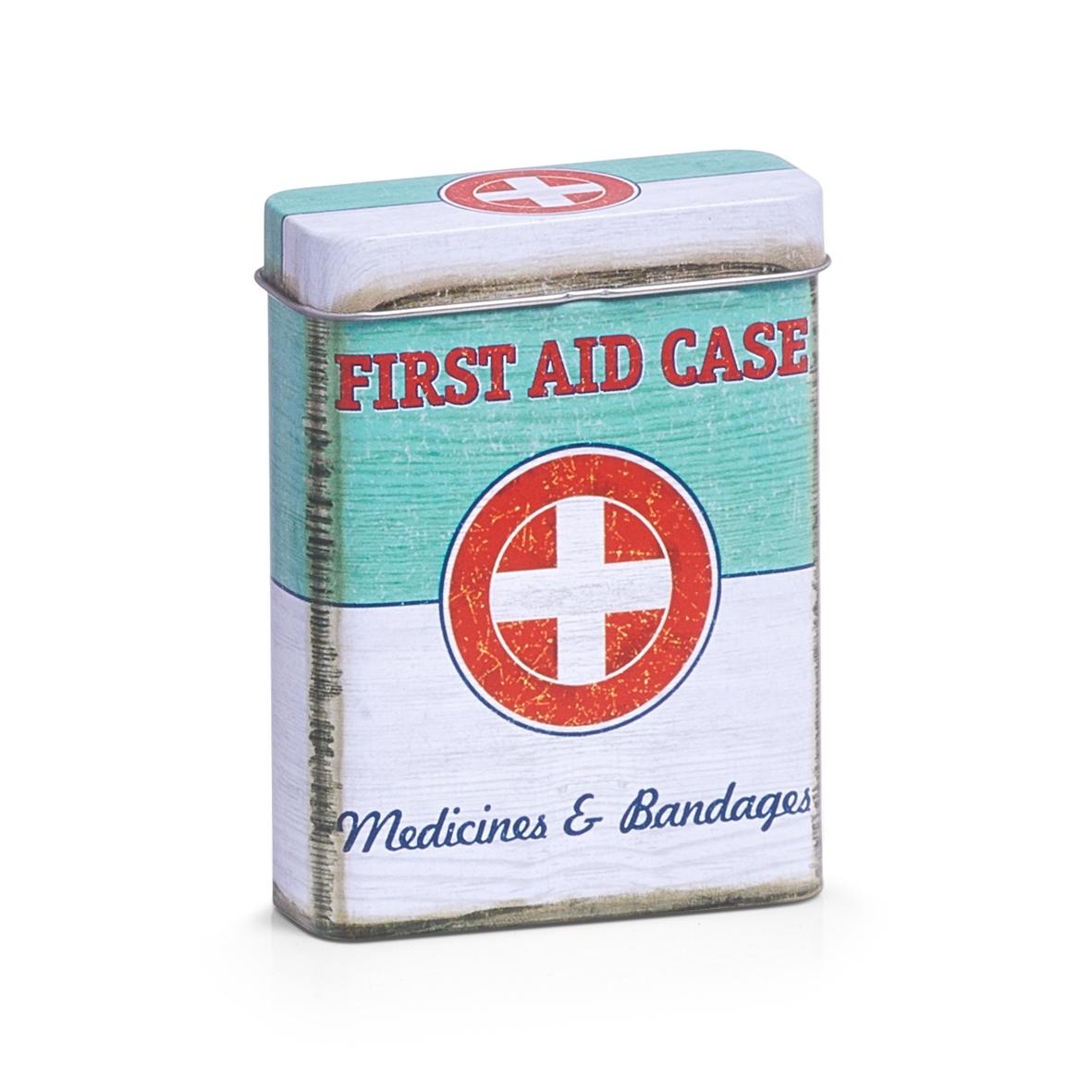 Cutie pentru depozitarea medicamentelor, First Aid Case, Metal, l7xA2,7xH9,4 cm( 474696)